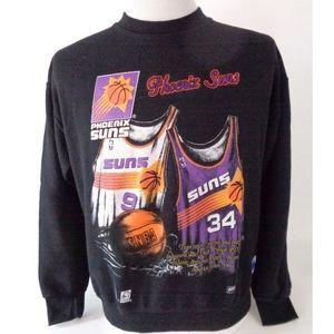 Vtg Phoenix Suns Nutmeg Mills Medium Sweatshirt